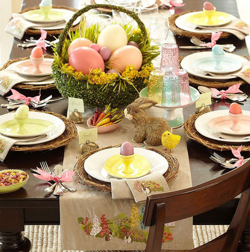 decoracao-pascoa-mesa