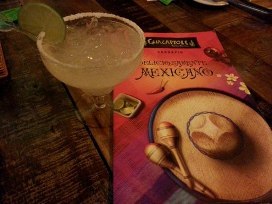 Margarita caprichada, inclusive no tamanho.